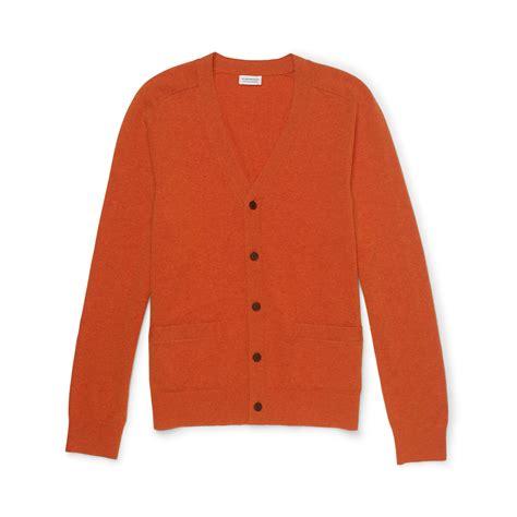 Monaco Cardigan club monaco cardigan in orange for lyst
