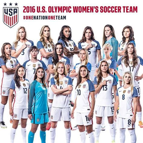 2016 usa olympic womens soccer team introducing your 2016 u s olympic women s soccer team