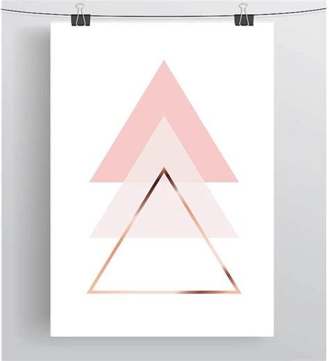 triangle pattern in c best 25 triangles ideas on pinterest rose gold