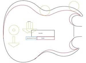 gibson sg template sg measurements everythingsg
