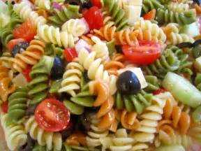 tri color pasta salad with italian dressing adayinthelifeofaborednavywife november 2012
