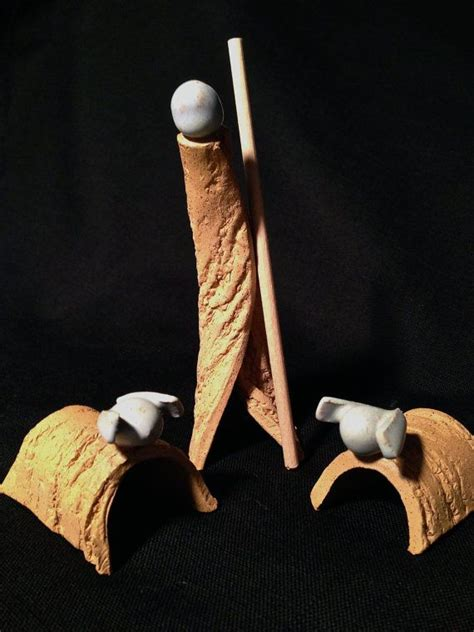 Handcrafted Nativity Set - 17 best images about pottery on