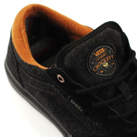 Vans Gilber Crokett Pro Denim vans gilbert crockett pro denim black black forty two skateboard shop