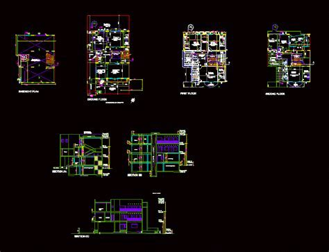Independent Residence DWG Block for AutoCAD ? Designs CAD