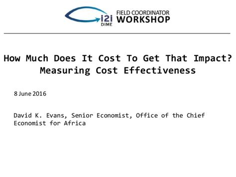 How Much Does It Cost To Get An Mba by How Much Does It Cost To Get That Impact Measuring Cost