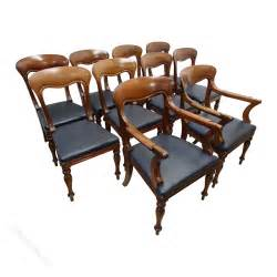 10 Dining Chairs Set Of 10 William Iv Mahogany Dining Chairs Antiques Atlas