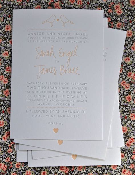invitation design geelong our letterpress work images pea on wedding invitations