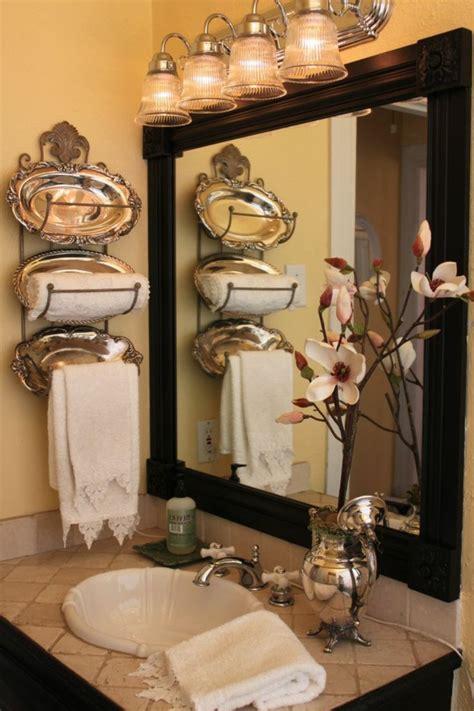 la decoration de salle de bain  mignon en vintage