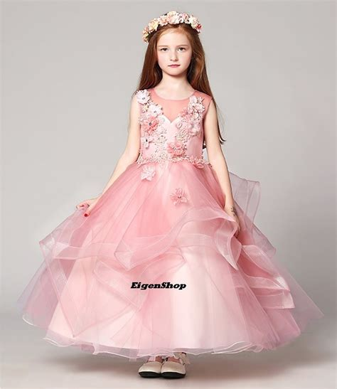 Dress Anak jual a1612004 gaun pesta anak gaun pengantin anak dress