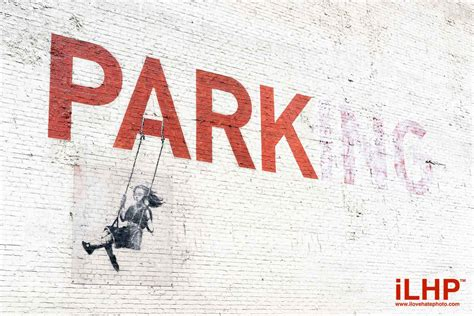 Banksy Parking Swing banksy parking on swing los angeles ilovehatephotography