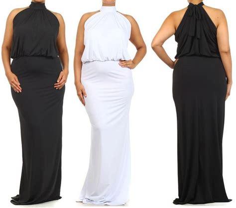 White Formal Dress Size Sml 13602 details about plus sz black white turtleneck length mermaid maxi dress gown cruise