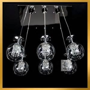 Wine Glass Pendant Light 6 Light Wine Glass Chandelier Light Pendant L Hanging Suspension Ebay