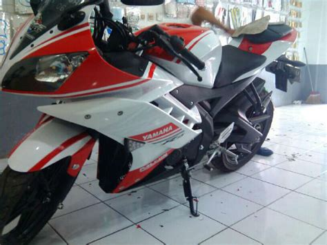 Kaos R15 Yamaha Bikers Bonus Stiker dijual yamaha r15 thn 2014 warna merah putih jual motor