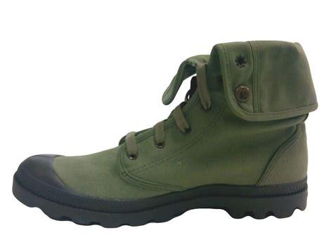 canvas boots palladium s baggy canvas boots color size