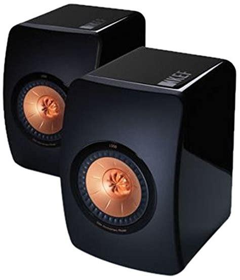 diffusori hi fi da scaffale kef ls50 ultimate mini monitor da scaffale a 3 vie nero