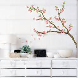 new butterfly cherry blossom flower tree branch wall wall decals cherry blossom with birds 3 colors vinyl