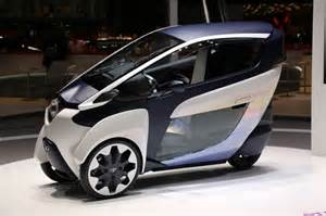 Electric Car Toyota Toyota Setsuna Electric Car Concept Wood 28 Mph Speed