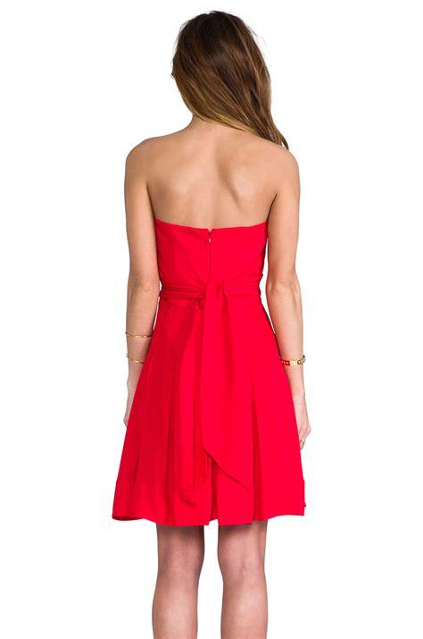 Dress Benita lyst catherine malandrino benita bustier dress in