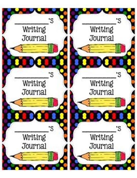 printable math journal labels printable kindergarten science journals free printable