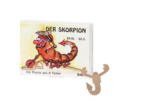 skorpion sternzeichen sternzeichen skorpion mini puzzle