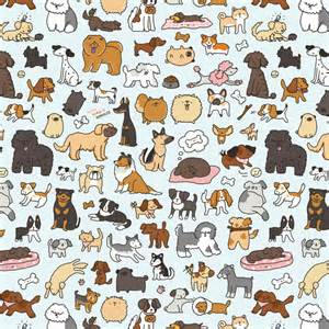 dog pattern wallpaper キラキラ doodles doggy doodle 3 scribbles pinterest