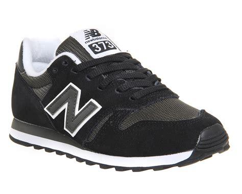 New Balance 373 Navy Putih new balance 373 black grey unisex sports