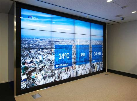 media wall citi rolls out its version of the apple store