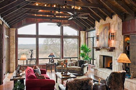 western homestead ranch living room rustic living room modern rustic living room living room transitional with