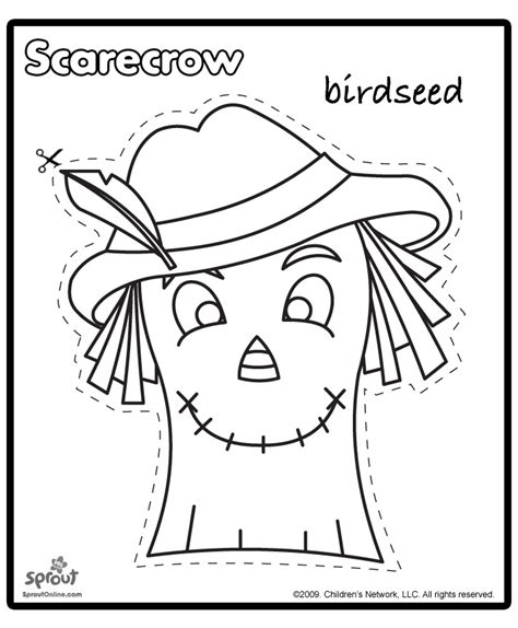 free printable scarecrow template scarecrow template scouts fall festival