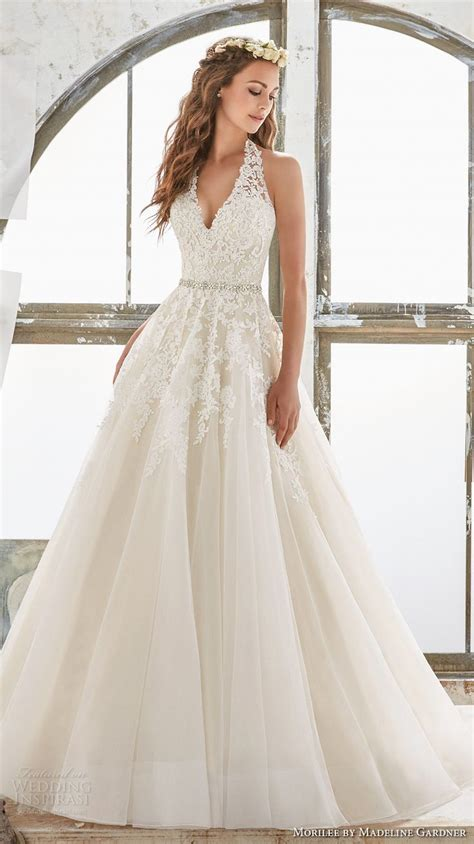 Halter Style Wedding Dresses by Best 25 Halter Wedding Dresses Ideas On