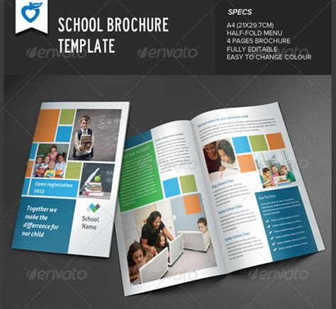 Play School Brochure Templates play school brochure templates 23 school brochure