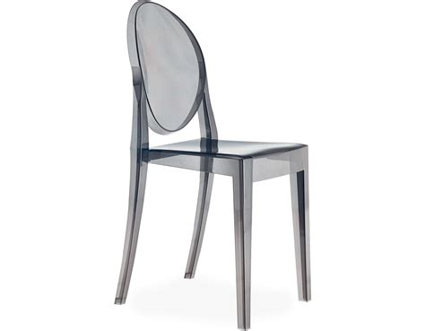 Philippe Starck Ghost Chair by Ghost Side Chair 2 Pack Hivemodern