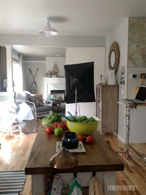 homes gardens magazine photoshoot   kitchen