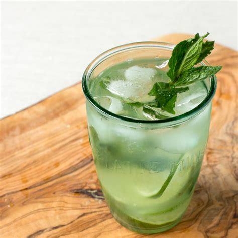 Ny Liem Green Tea Ny Liem Green Tea Macha Pasta Pasta Green Tea muddled mint lime iced tea oh how civilized