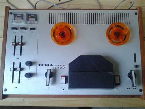 tesla b 100reel to reel recorder for sale in gorey