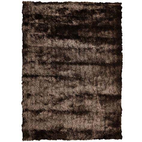 6 ft area rugs lanart rug silky chocolate 6 ft x 8 ft area rug the