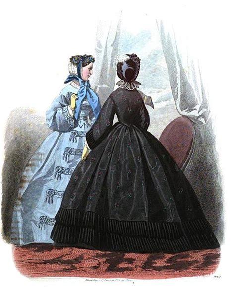 tufts and pompadour dresses from les modes parisiennes 1862 susanna ives