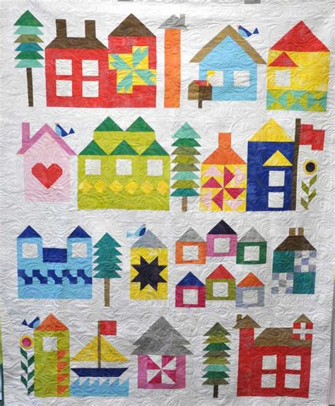 Moda Free Quilt Patterns by Wool Felt Central Moda S Be Sew Along Block 1