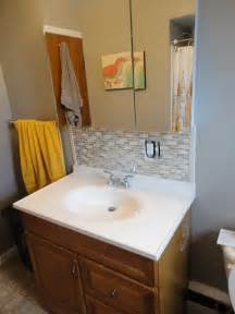 small bathroom backsplash ideas brilliant bathroom backsplash fair bathroom vanity