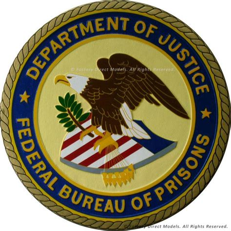 federal bureau of justice department of justice federal bureau of prisons