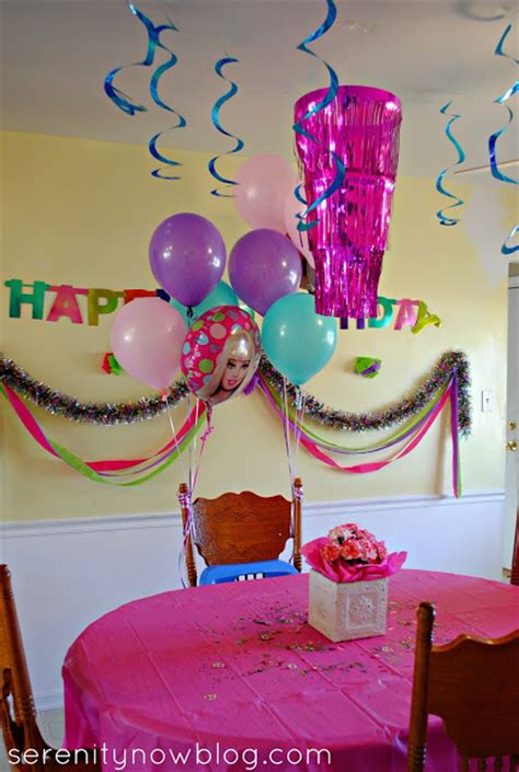 kids birthday decorations at home serenity now throw a barbie birthday party at home