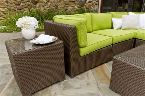 can rattan furniture be used outdoors use rattan outdoor furniture for your deck decorifusta