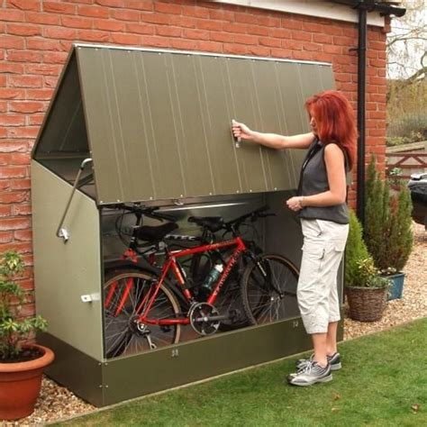 Plastic Bike Shed by 1000 Ideas About Bike Shed On Garage Sheds