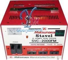 Stabilazer Matsunaga 500va jual stabilizer matsunaga asli jepang dealer agen