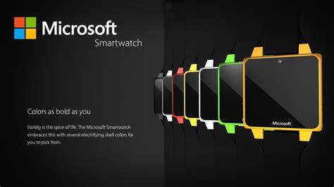 Smartwatch Microsoft microsoft smartwatch concept runs windows wear 8 1 looks