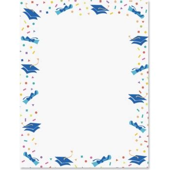 paper direct templates best graduation border 11929 clipartion
