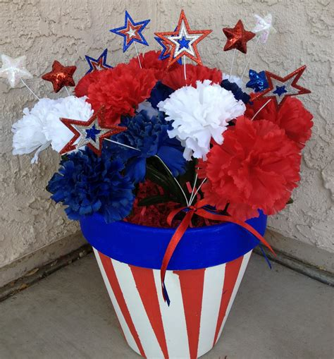 the busy broad 4th of july decor