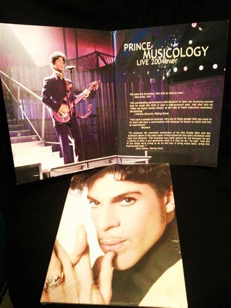 a tour of books prince musicology live 2004 tour book concert photos new