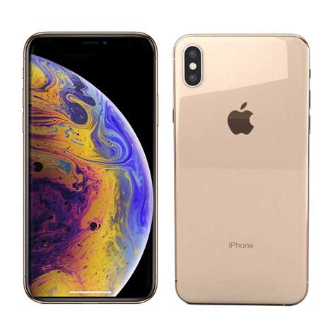 apple iphone xs max gold gb smartphone ansons