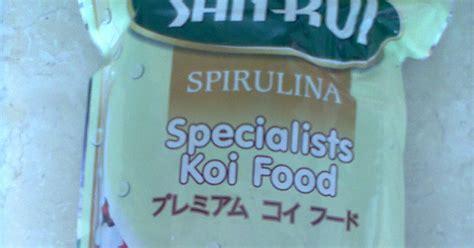 Makanan Ikan San Koi Wheat Germ makanan koi ku jual pelet ikan koki makanan ikan koi